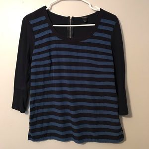 Ann Taylor Zippered Back Top
